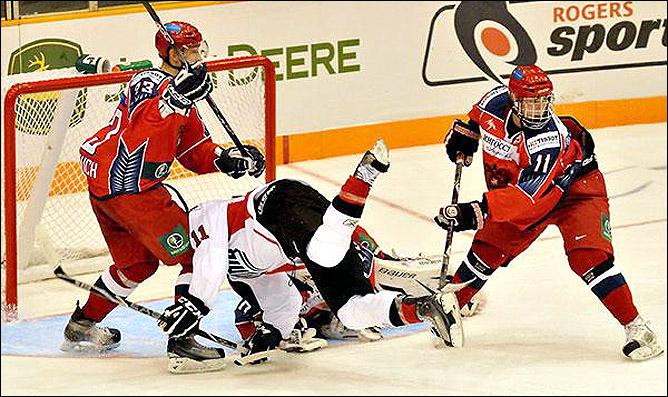 11.11.2010. Россия U-20 - Канада, Квебек - 4:3. Фото 02.
