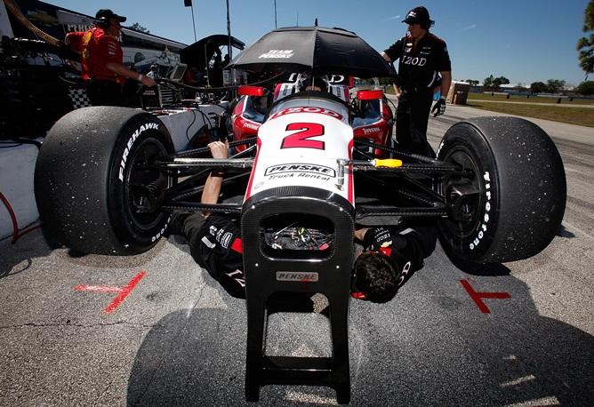 Тесты IndyCar в Себринге