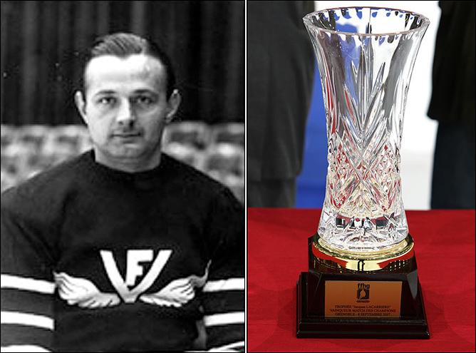 Слева — Жак Лекаррье, справа – приз его имени