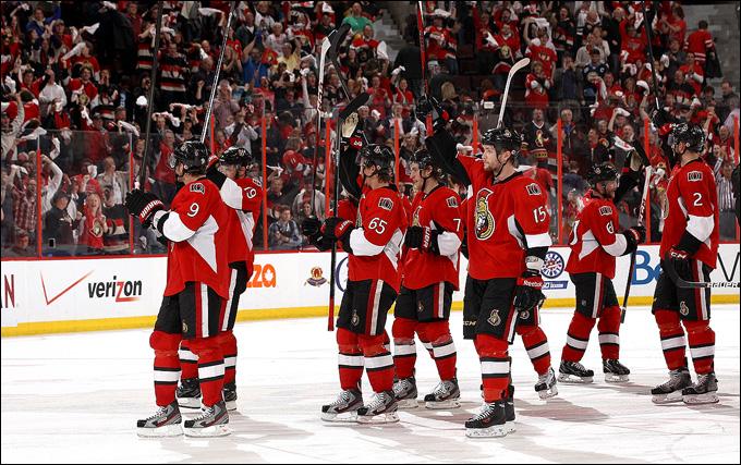 """Итоги сезона НХЛ. """"Оттава Сенаторз"""""""