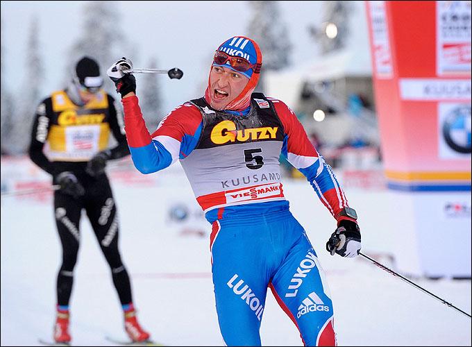 Александр Легков в сезоне-2012/13 уже успел обыграть Нортуга