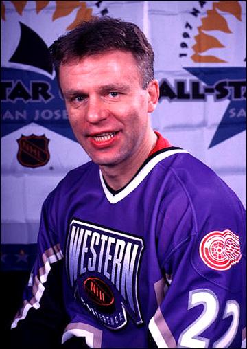 Вячеслав Фетисов в Матче Всех Звёзд НХЛ, 1997 год