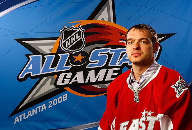 Андрей Марков на Матче всех звёзд НХЛ