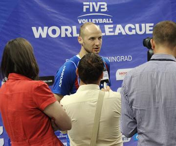 Николай Павлов — лучший игрок матча