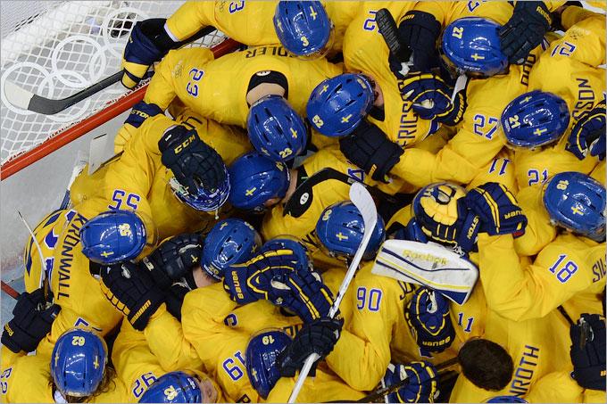 Шведы победили финнов — 2:1