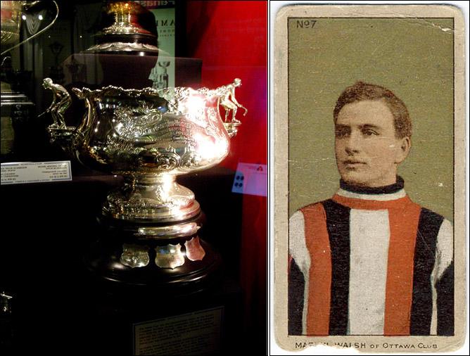 История Кубка Стэнли. Часть 17. 1908-1909. Arena Hockey Championship Trophy, Мартин Уолш.