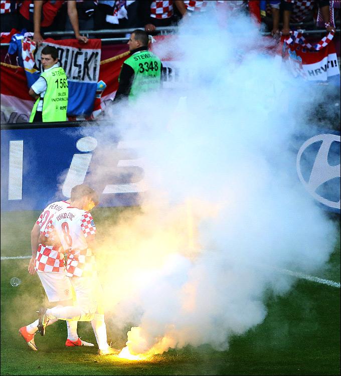 Развлечения хорватских болельщиков
