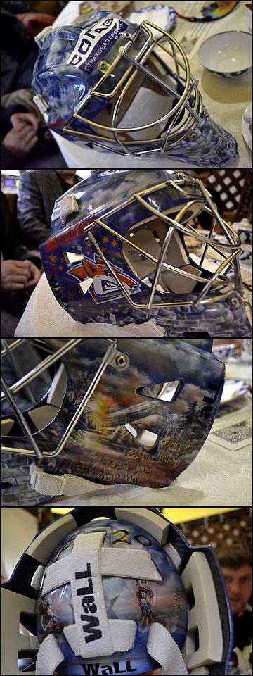 Внешний вид шлема для голкипера очень важен