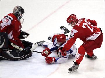 Россия против Дании