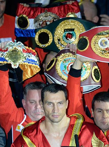 Владимир Кличко победил Александра Поветкина (UD)