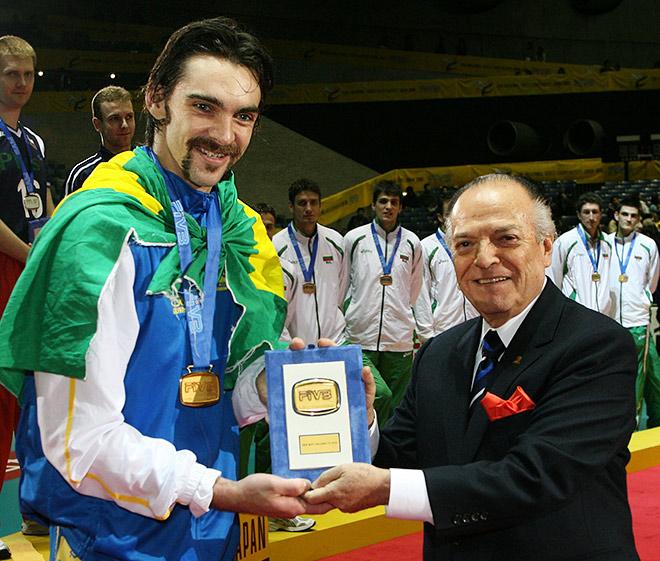 В 2006 году Жиба был признан самым ценным игроком чемпионата мира