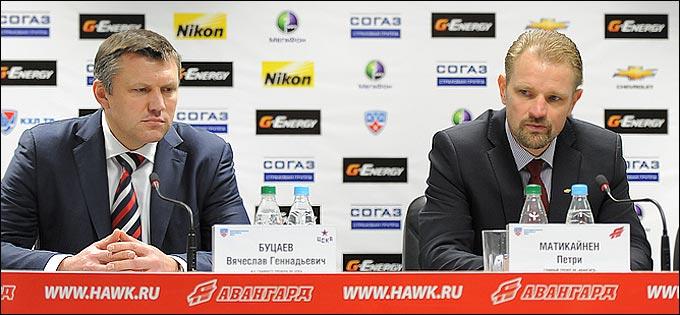 Вячеслав Буцаев и Петри Матикайнен