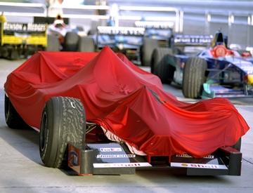 """Болид """"Феррари"""" после скандального Гран-при Малайзии-99"""