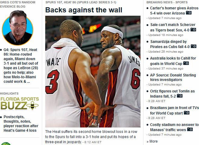 Miami Herald: «Припёртые к стене»
