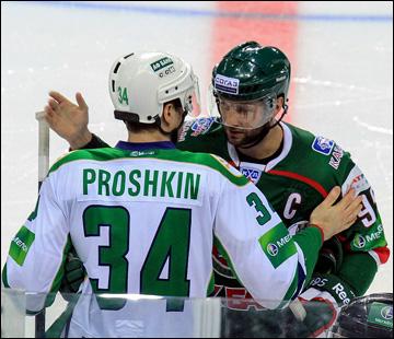 Два капитана: Виталий Прошкин и Алексей Морозов