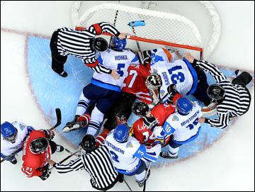 Первый полуфинал: Канада — Финляндия