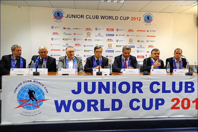 Пресс-конференция по итогам Кубка мира