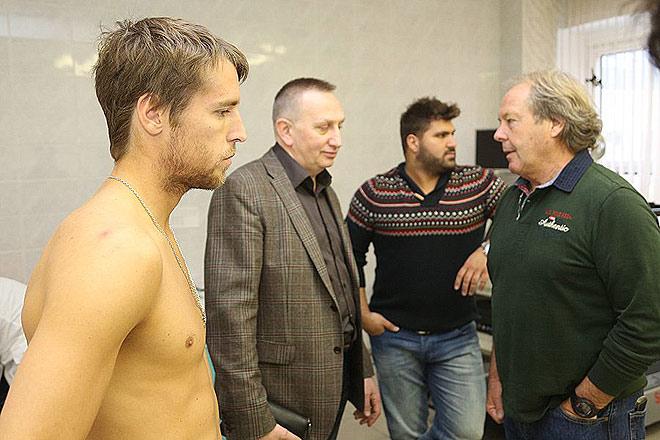 Дмитрий Комбаров и Вальтер Грютер