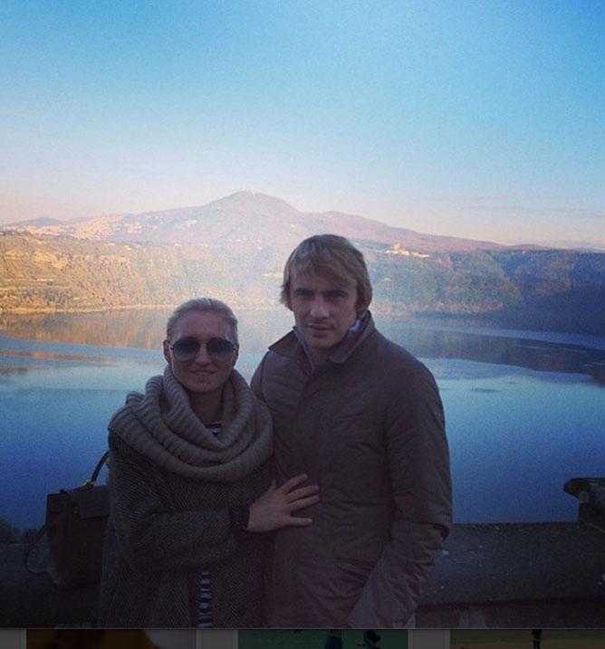 Калиниченко с женой