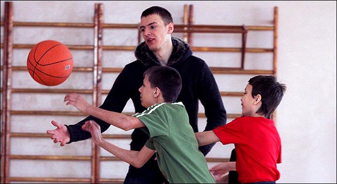 Алексей Филиппов в детском доме