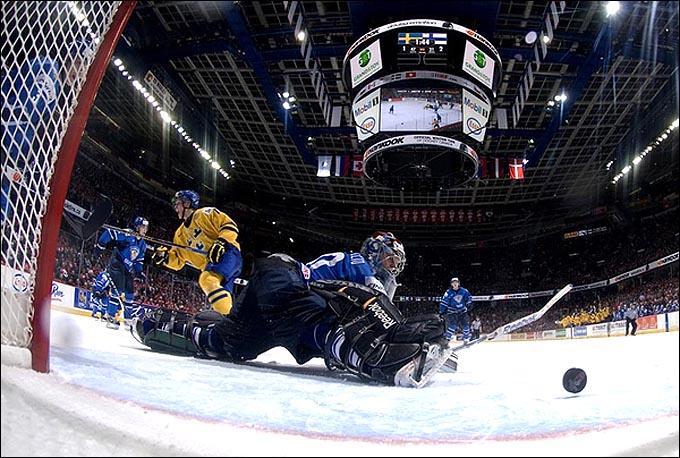3 января 2011 года. Калгари. Молодежный чемпионат мира. 1/2 финала. Швеция – Финляндия – 3:2