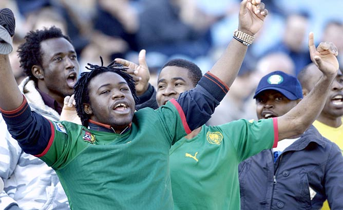 """Поклонники """"Арсенала"""" из Ганы"""