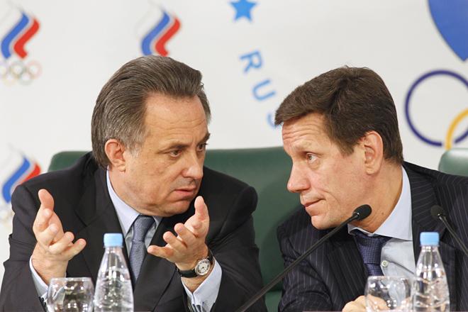 Виталий Мутко и Александр Жуков
