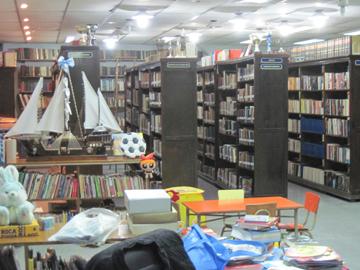 """Библиотека на """"Бомбонере"""", в которой нашлось место и великому русскому писателю…"""