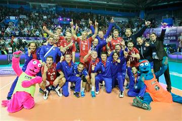 Сборная России выиграла Мировую лигу, обыграв в финале бразильцев
