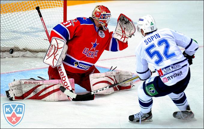 Алексей Сопин против ЦСКА