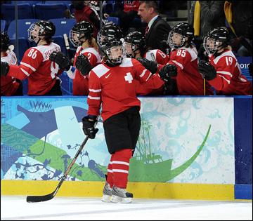 Женская хоккейная сборная Швейцарии