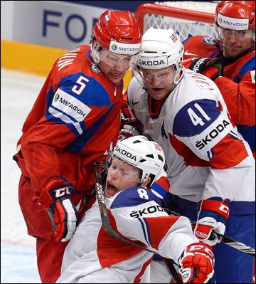 Илья Никулин против сборной Норвегии