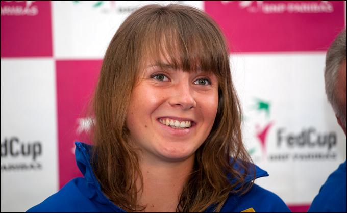 Дебютант сборной Украины Элина Свитолина
