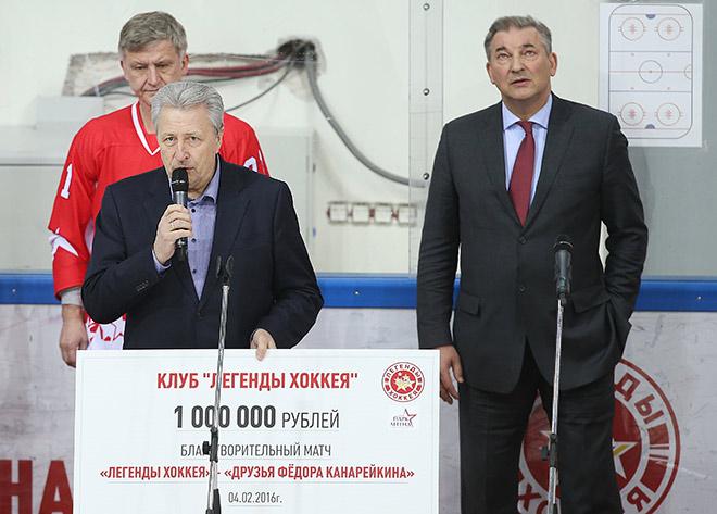 Александр Якушев и Владислав Третьяк