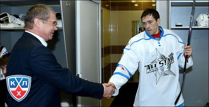 Александр Медведев и Павел Дацюк