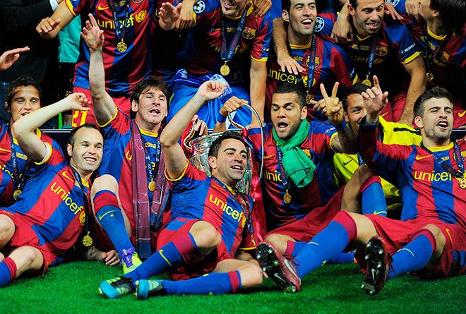 Победа «Барселоны» в Лиге чемпионов