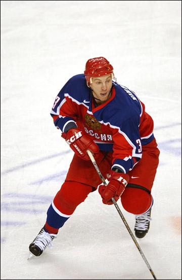 Андрей Николишин в составе сборной России