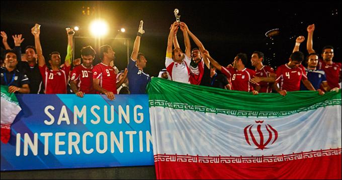 Сборная Ирана выиграла Межконтинентальный кубок