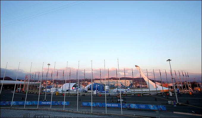 Скоро вспыхнет огонь Олимпиады-2014