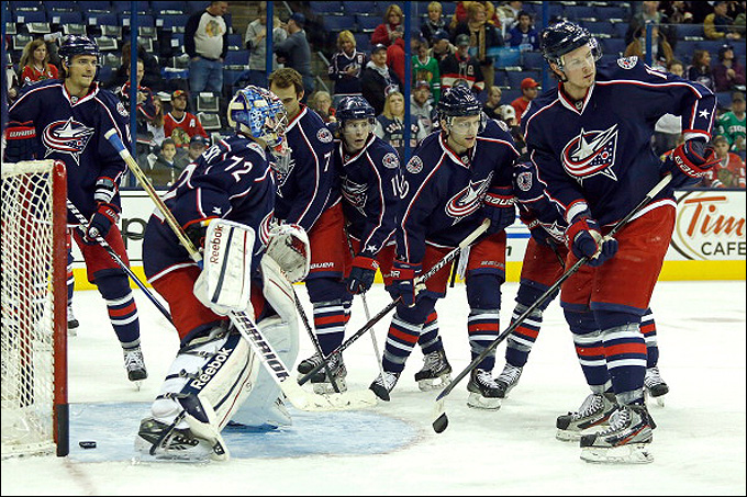"""Как дела, НХЛ? """"Коламбус Блю Джекетс"""""""