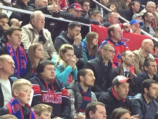 Болельщики ЦСКА напряжены