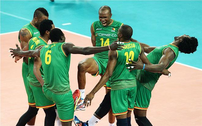 В матче с Польшей у камерунцев было много поводов для радости