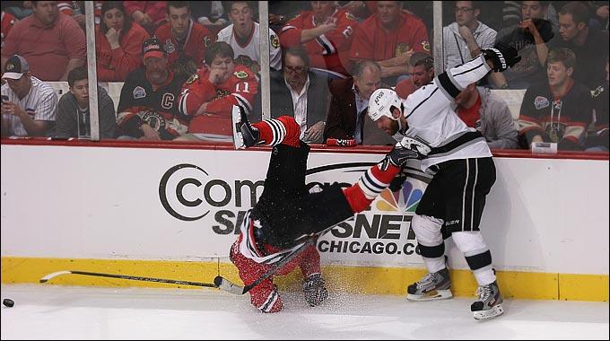 """3 июня 2013 года. Чикаго. Плей-офф НХЛ. 1/2 финала. Матч № 2. """"Чикаго"""" — """"Лос-Анджелес"""" — 4:2. Рок-н-ролл в """"Юнайтед Центр"""""""