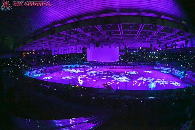 Церемония открытия в Новосибирске