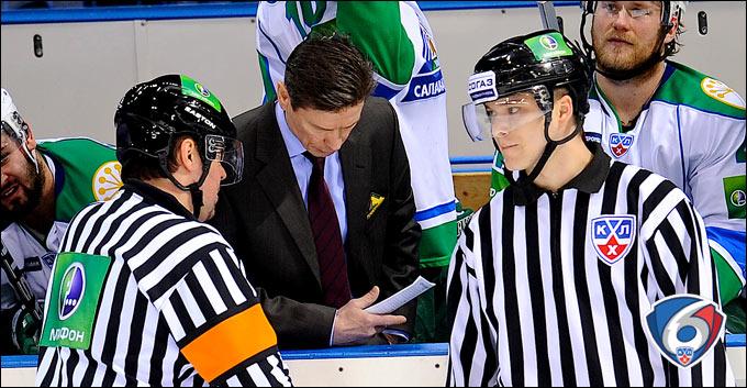 Быков: Судья не должен красоваться и разговаривать с хоккеистами матом