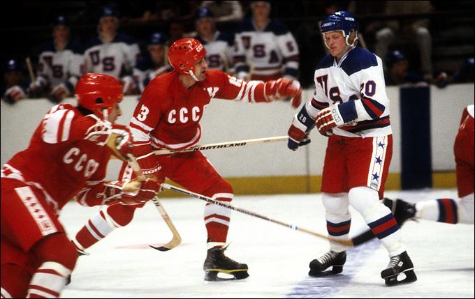 22 февраля 1980 года. Лейк-Плесид. Зимние Олимпийские игры 1980 года. США — СССР — 4:3