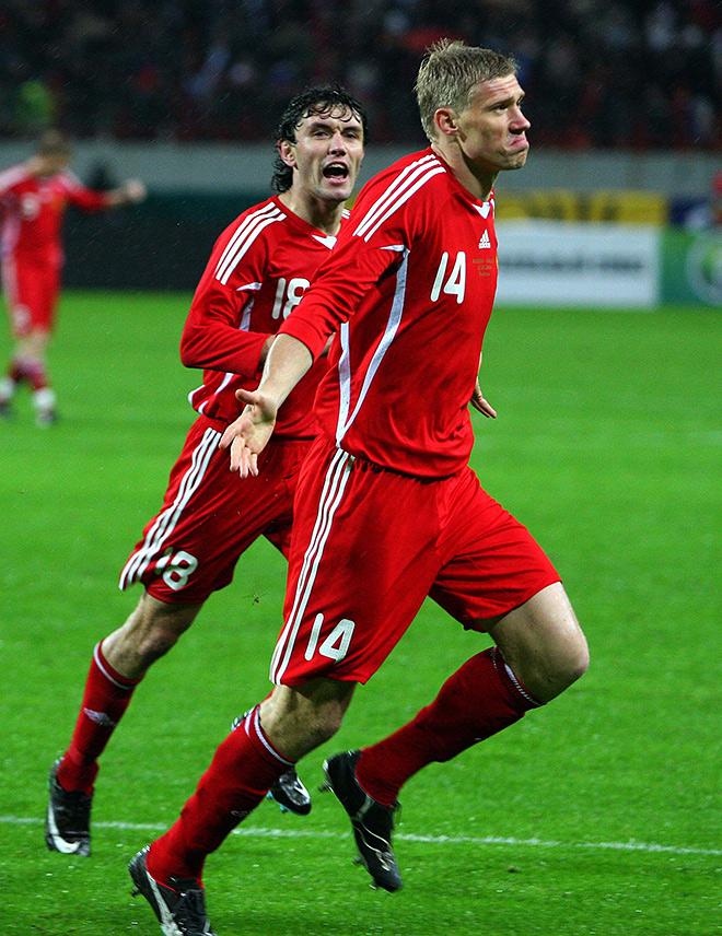 Форма сборной России от adidas «переходного» периода — 2008 год