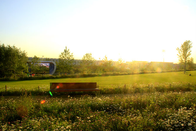 Пейзаж в Олимпийском парке