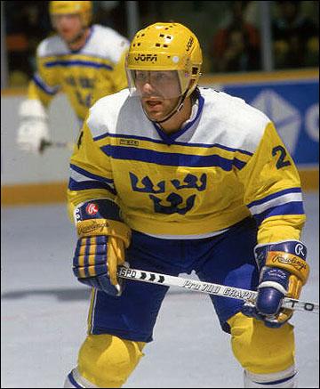 Матс Нэслунд на Кубке Канады-1987