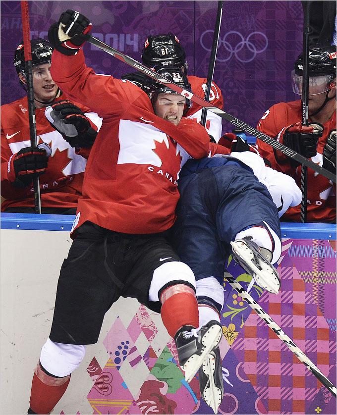 Канада оставила США без хоккейного финала